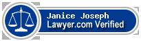 Janice V Joseph  Lawyer Badge