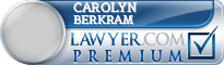 Carolyn Brown Berkram  Lawyer Badge