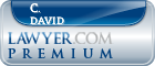 C. Carter David  Lawyer Badge