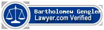 Bartholomew J. Gengler  Lawyer Badge