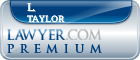 L. Maxwell Taylor  Lawyer Badge