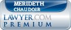 Merideth C. Chaudoir  Lawyer Badge