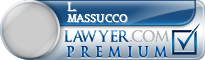 L. Raymond Massucco  Lawyer Badge
