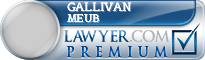 Gallivan Meub  Lawyer Badge