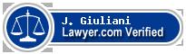 J. Paul Giuliani  Lawyer Badge