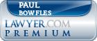 Paul R Bowfles  Lawyer Badge