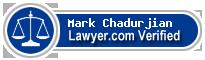 Mark F. Chadurjian  Lawyer Badge