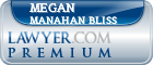Megan T Manahan Bliss  Lawyer Badge
