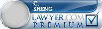 C. Justin Sheng  Lawyer Badge