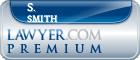 S. Scott Smith  Lawyer Badge
