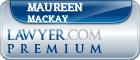 Maureen Mackay  Lawyer Badge