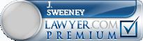 J. Leonard Sweeney  Lawyer Badge