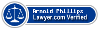 Arnold F. Phillips  Lawyer Badge