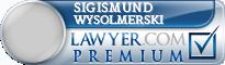 Sigismund J Wysolmerski  Lawyer Badge
