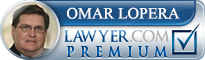 Omar D. Lopera  Lawyer Badge