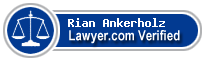 Rian F. Ankerholz  Lawyer Badge
