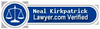 Neal Kirkpatrick  Lawyer Badge