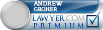 Andrew Groher  Lawyer Badge