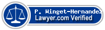 P. Michael Winget-Hernandez  Lawyer Badge