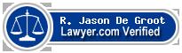 R. Jason De Groot  Lawyer Badge