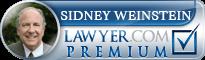 Sidney Weinstein  Lawyer Badge