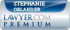 Stephanie Oblander  Lawyer Badge