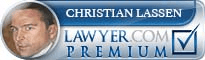 Christian K. Lassen  Lawyer Badge