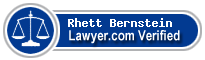 Rhett Bernstein  Lawyer Badge