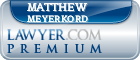 Matthew Meyerkord  Lawyer Badge