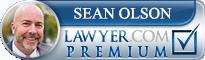 Sean Olson  Lawyer Badge