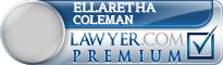 Ellaretha Coleman  Lawyer Badge