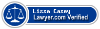 Lissa Casey  Lawyer Badge