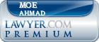 Moe Ahmad  Lawyer Badge