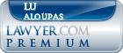 Lu Aloupas  Lawyer Badge