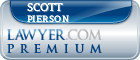 Scott Pierson  Lawyer Badge