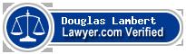 Douglas Lambert  Lawyer Badge