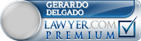 Gerardo Delgado  Lawyer Badge