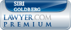 Siri Goldberg  Lawyer Badge