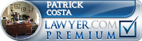 Patrick Louis Costa  Lawyer Badge