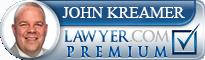 John Kreamer  Lawyer Badge