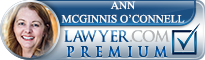 Ann McGinnis O'Connell  Lawyer Badge