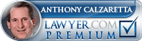 Anthony F Calzaretta  Lawyer Badge