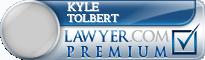 Kyle A Tolbert  Lawyer Badge
