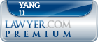 Yang Li  Lawyer Badge