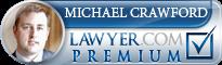Michael Crawford  Lawyer Badge