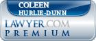 Coleen Hurlie-Dunn  Lawyer Badge