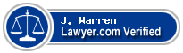 J. Lott Warren  Lawyer Badge
