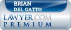 Brian Del Gatto  Lawyer Badge