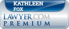 Kathleen G. Fox  Lawyer Badge