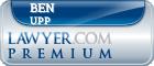 Ben K. Upp  Lawyer Badge